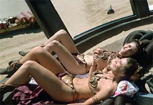 Twice the Leias, Twice The Bikinis, Twice The Fun