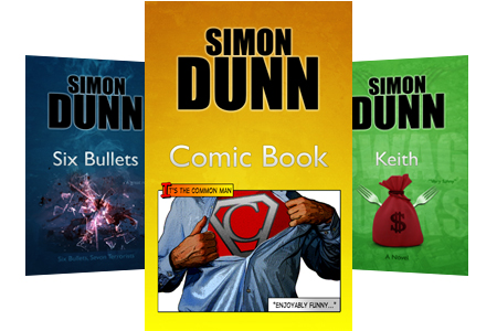 Comic Book by Simon Dunn