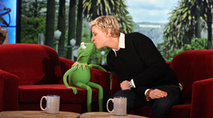 Kermit and Ellen