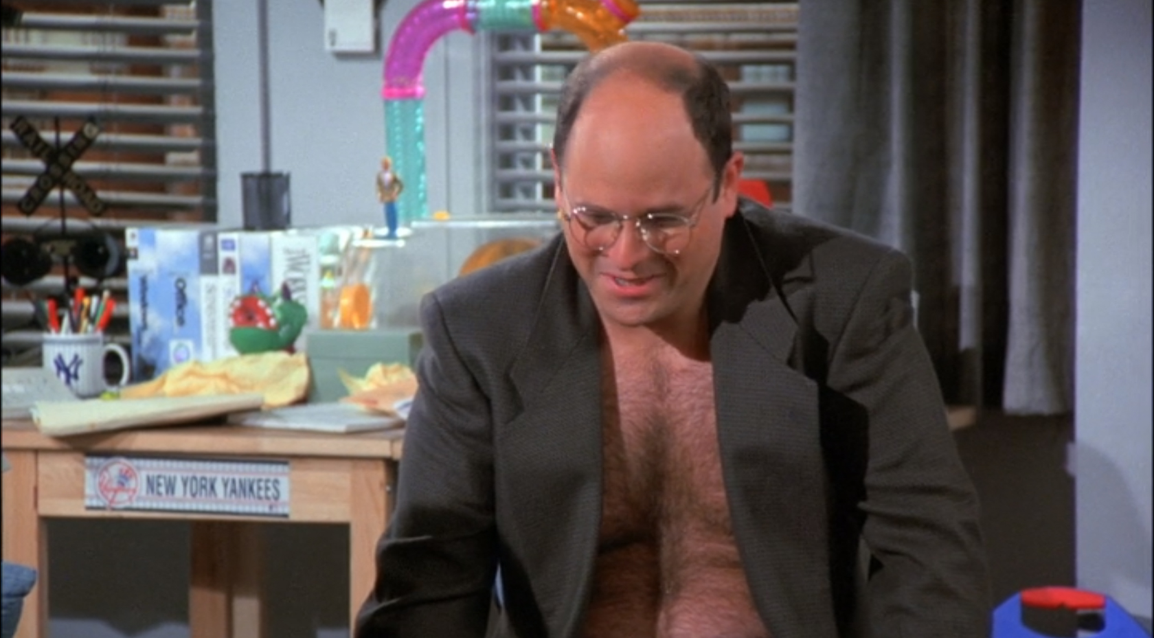 Does George Costanza Own A Hamster?