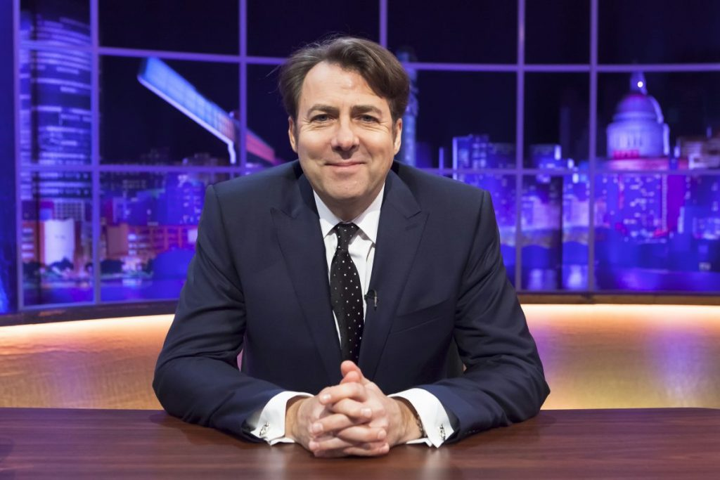 Jonathan Ross On Late Night With David Letterman